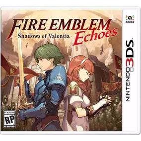 Fire Emblem Echoes Shadows Of Valentia Nintendo 3ds Lacrado