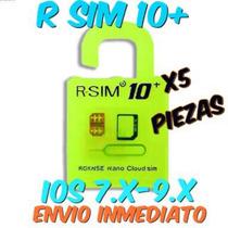 Lote 5 Piezas R Sim 10+ Desbloqueo Iphone 4s-6plus No Icloud