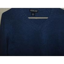 Sweater Lands End Dama Cuello En V Nuevo Talla Xl