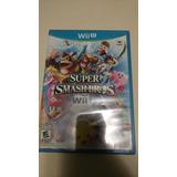Super Smash Bros Wii U Sellado