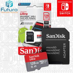 Sandisk Ultra 128gb Nintendo Switch Classe 10 Micro Sdxc A1