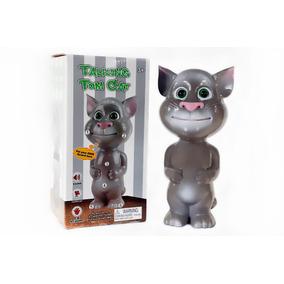 Gato Talking Tom Interativo Repete Com Voz Super Engraçada