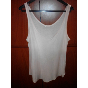 Camiseta Zara Original Dama Mujer Talla L