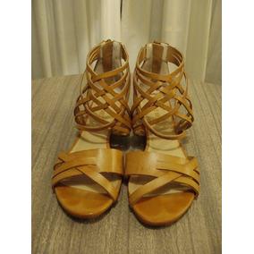 Zapatos Sandalias Color Tostado Nro 36.5 - Nine West
