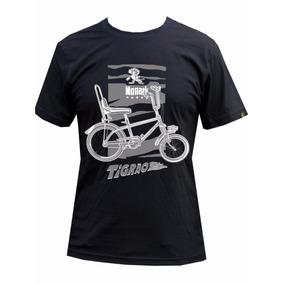 Camiseta Bicicleta Monark Tigrão Preta