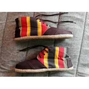 Zapatos Tipo Alpargatas Toms Talla 9 En Excelente Estado