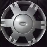 Juego De Taza De Rueda Ford Fiesta Max Rodado 14 + Logos