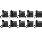 Kit 10 Telefones Ip Voip Sip Gxp1610 Grandstream