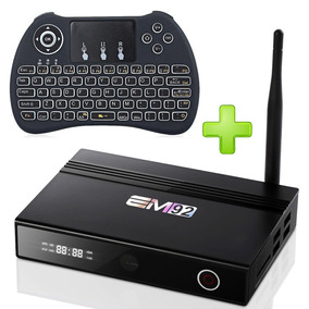 Convertidor Lcd A Smart Tv Box 16gb Bluetooth Em92 + Teclado