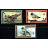 Argentina 1995 * Pássaros Canoros Silvestres Regionais* Mint