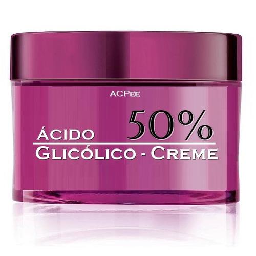 ácido Glicólico 50% Em Creme - Peeling Clareador