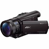 Sony Hdr-ax100 4k Y Hd