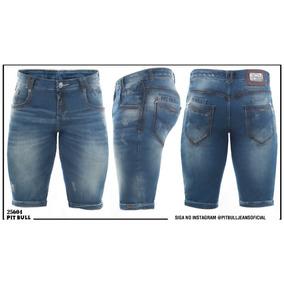 Bermuda Jeans Masculina Pit Bull Original 25604