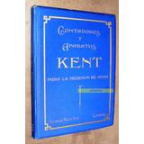 Medidor Kent Agua 1910 Catalogo Herramientas Antiguas Etc