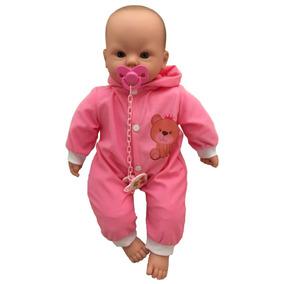 Boneca Bebê Recém Nascida Pijama Estilo Reborn - Divertoys