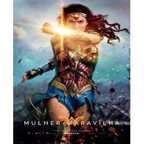Poster Mulher Maravilha 2017 Cartaz A4 30x20cm