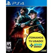 Resident Evil 5 Hd Ps4 Fisico Sellado Nuevo Canje Sevengamer