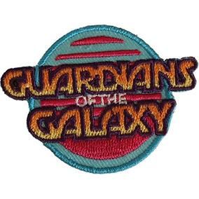Aplicación Guardianes Del Parche Con El Logo Retro Galaxy