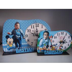 Reloj Souvenirs Personalizado Cumpleaños Infantil X 10
