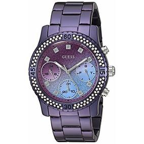Relógio Guess Ladies Wild Orchid Purple U0774l4