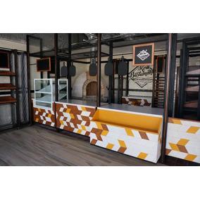 Equipo Para Cafeterias Desde Mesas Sillas Mesa Fria Vitrina