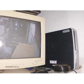 Computadora Pemtiun 4 Hpcompaq Completa Monitor + Impresora