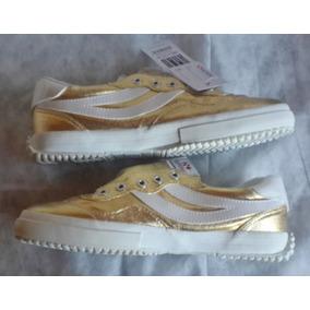 Zapatillas Superga Cotmetw Gold Dorado No Vans