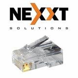 Funda De 25 Conectores Rj-45 Nexxt Categoría 6 Cat6