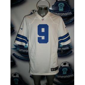d26927eb5d520 Jersey Oficial Nike Nfl Vaqueros Dallas Cowboys Romo-9 Blanc ...