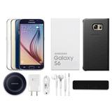 Samsung Galaxy S6 32gb Nuevo Sellado + Funda + Cristal + Reg