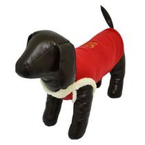 Roupinha Carapinha Soft Para Cães Cachorros Vermelha Tam 36