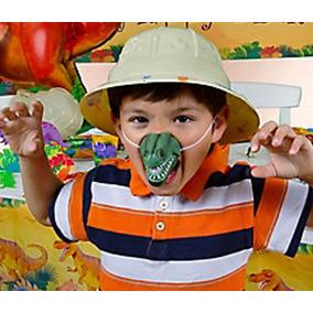 Disfraz Dinosaurios Nariz Fiesta Infantil Máscara Regalo