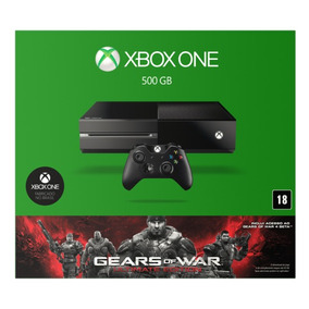 Xbox One 500gb + 5 Jogos Gears Of War Ultimate Nacional