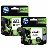 Cartuchos Hp Originales 664xl, 662xl, 122xl