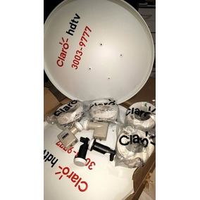 Antena Ku 60cm Kit 5 Completo Claro Frete Grátis !