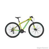 Bicicleta Focus Whistler Elite 24v Amarela E Verde 2017