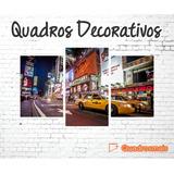 Quadro Decor New York Ny Cidades Famosas Quarto 155x80 3p