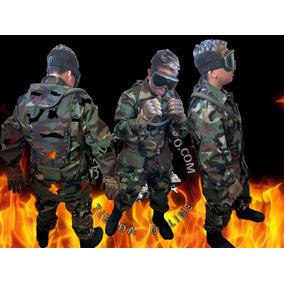 Uniforme Combate Mimetizado Selva Rip Stop