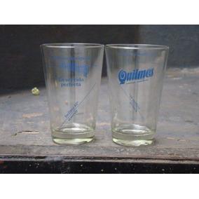 Vaso De Colección Cerveza Quilmes Vidrio