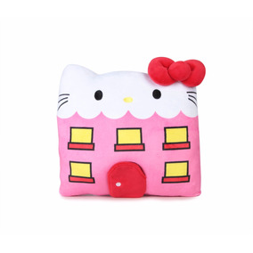Hello Sanrio Hello Kitty Cojín De Peluche Con Mascota Town