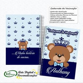 Caderneta De Vaciaçao Personalizada-menina E Menino