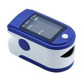 Oximetro De Pulso Cms Dl Azul