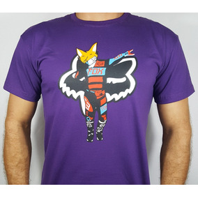 Camiseta Fox Motocross - Raposa - Deb