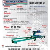 Maquina De Corte De Granito Serra Marmore Cortadeira Chapas