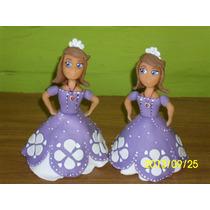 Princesas Elsa Frozen, Sofía En Porcelana Fría