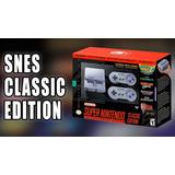 Super Nintendo Mini Snes Classic Edition Nuevas 1año Garatia