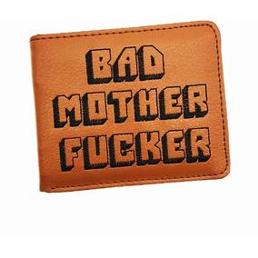 Billetera Pulp Fiction (tarantino) Bad Mother Fucker,bordada