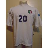 Camiseta Selección Italia Kappa Euro 2000 Totti #10 L Roma