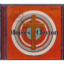 Cd Duplo Moisés Cleyton - Meu Alvo [voz+playback]