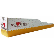 Kit 1.000 Embalagens Internas + 500 Externas Para Churros